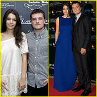 Josh Hutcherson & Girlfriend Claudia Traisac Bring Their Romance to Spain!